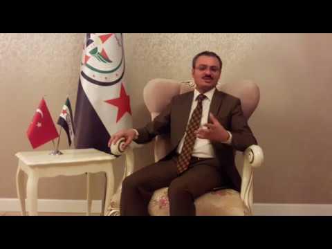 Avrasya Platformu'nun (AYYB,AİT) kurduğu Suriye Halk Cephesi Genel Başkanı